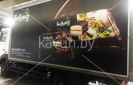 брендирование транспорта для Беллакт