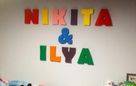 объемные буквы в детскую