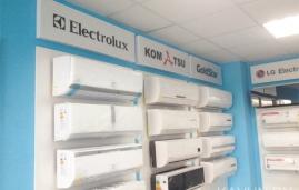световые короба для магазина климатехника